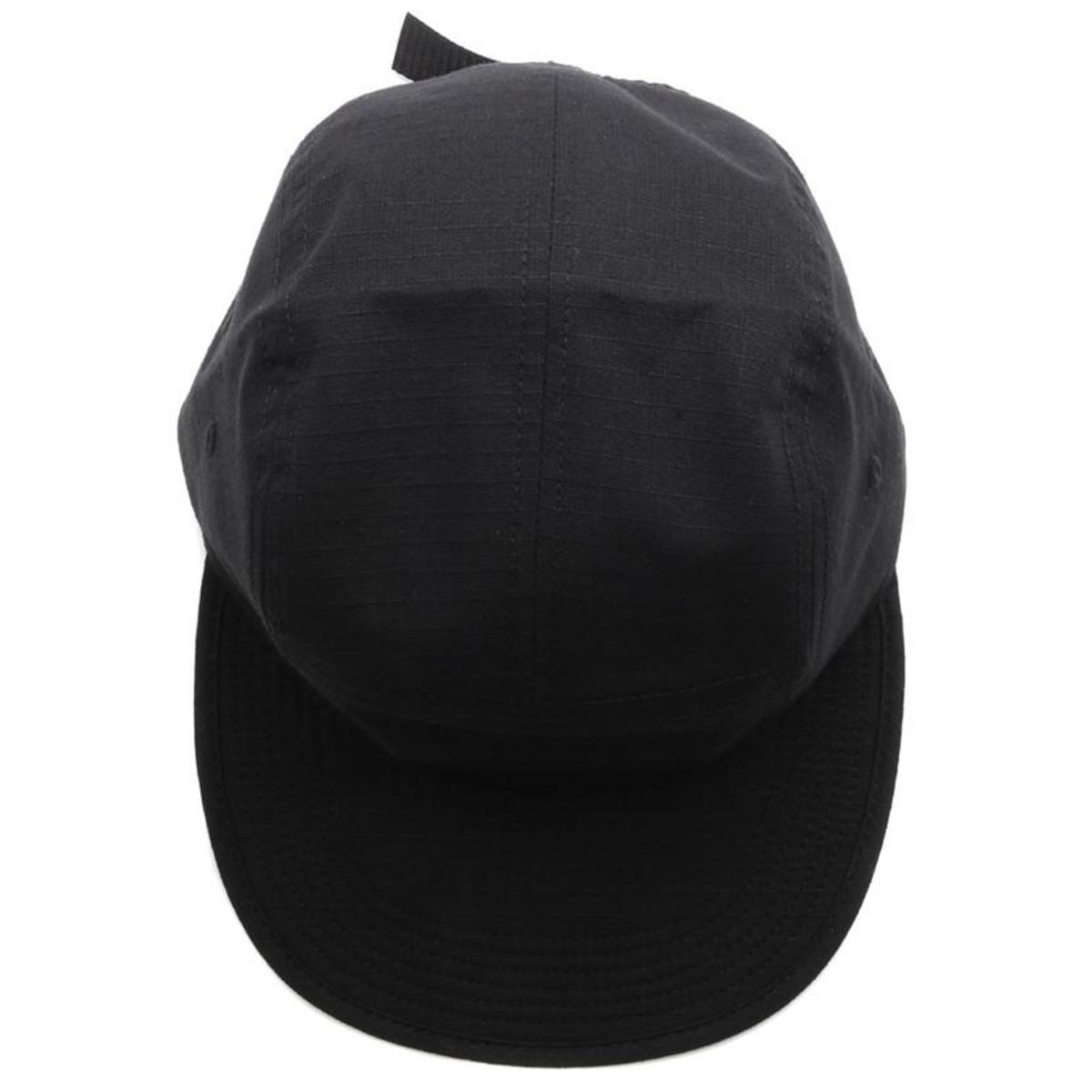 9be40f9f38381 BY PARRA 5 PANEL VOLLEY HAT SIGNATURE - BLACK