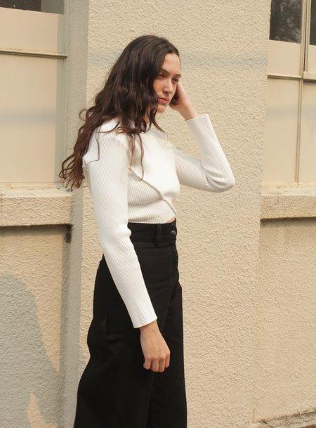 Desiree Klein Ava Longsleeve - white