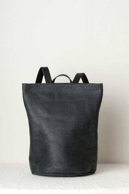 KikaNY Leather Harvest Backpack In Black