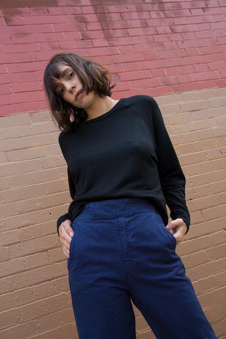 Stateside Dolman Sweatshirt In Black