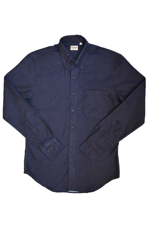 Men's United Stock Dry Goods Pin Dot Shirt