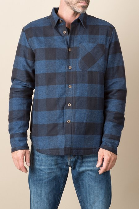 A Kind of Guise Tancho Shirt In Dark Check