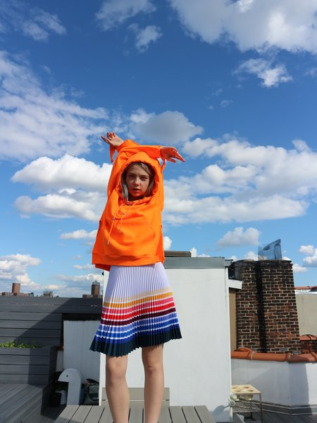 Kitty Joseph Sunray Skirt