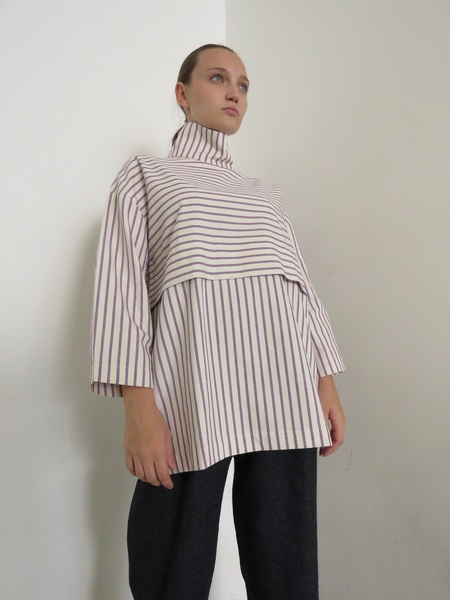 REALITY STUDIO  MIA TOP - STRIPES