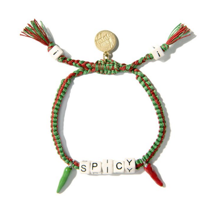 Venessa Arizaga Spicy Friendship Bracelet
