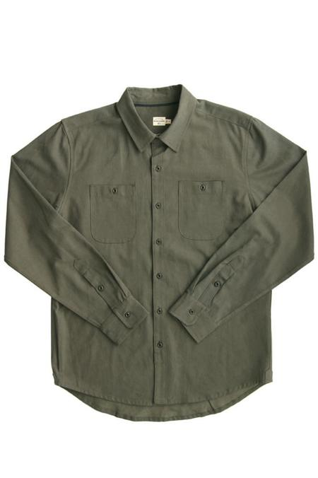 Bridge & Burn Winslow - Dark Sage Twill