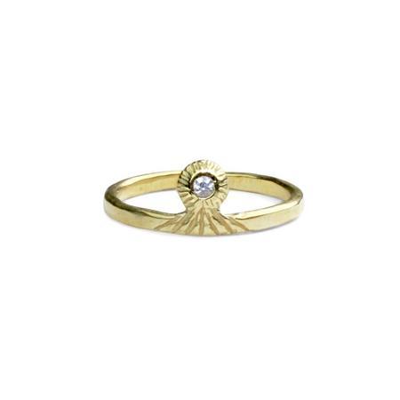 Amanda Hunt Brass Vision Ring
