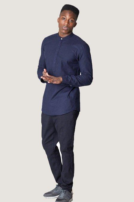 Journal Drain Soft Shirt - Navy