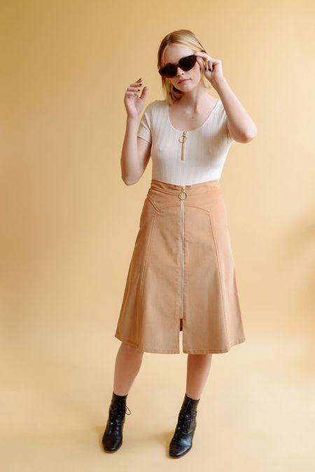 Lykke Wullf Dolly Knee Length Skirt
