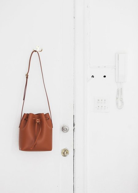 The Stowe Brady Bucket Bag in Paprika