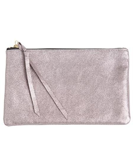 Oliveve Queenie In Pink Shimmer Cow Leather