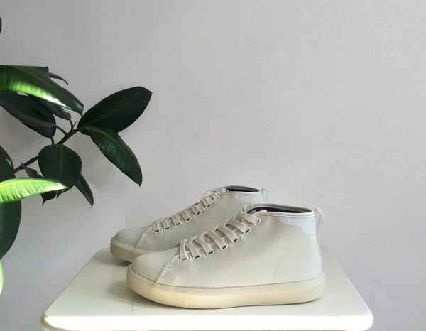 Native Shoes MONACO MID - CANVAS BLANC/BLANC