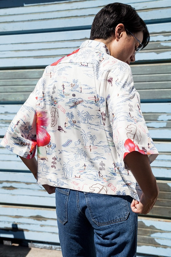 Creatures Of Comfort Tinzen Shirt |  Hawaiian print