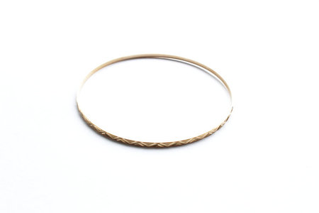 Estate by Bodega Thirteen 023 Gold Decorative Bangle