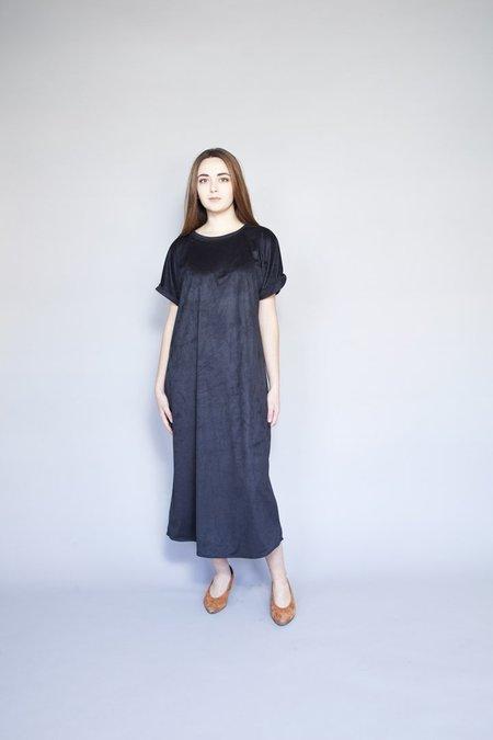 Sara Duke Your Favourite Dress - Black Suede