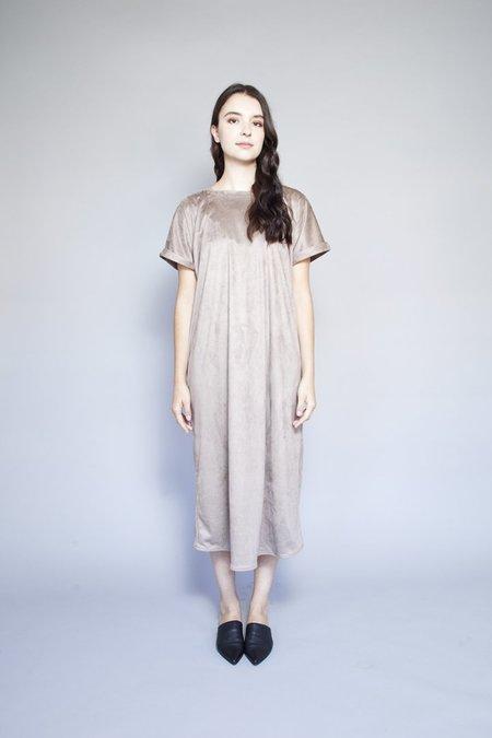 Sara Duke Your Favourite Dress - Taupe Suede