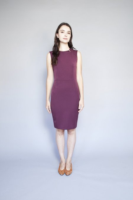 Valérie Dumaine Valerie Dumaine Auden Dress - Wine