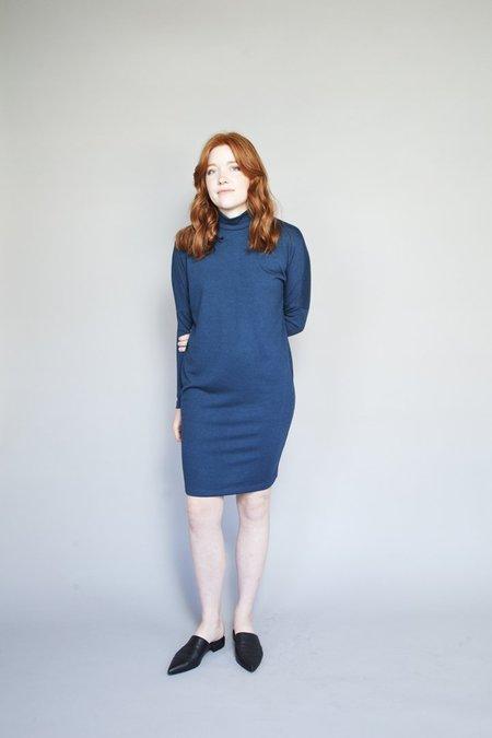 Valérie Dumaine Marah Dress Indigo