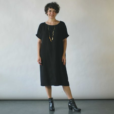 Studio 412 Seam Dress in Black