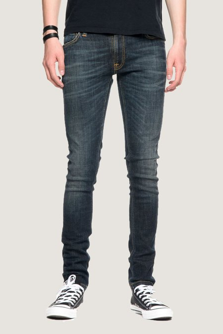 Nudie Jeans Skinny Lin - Blue Motion