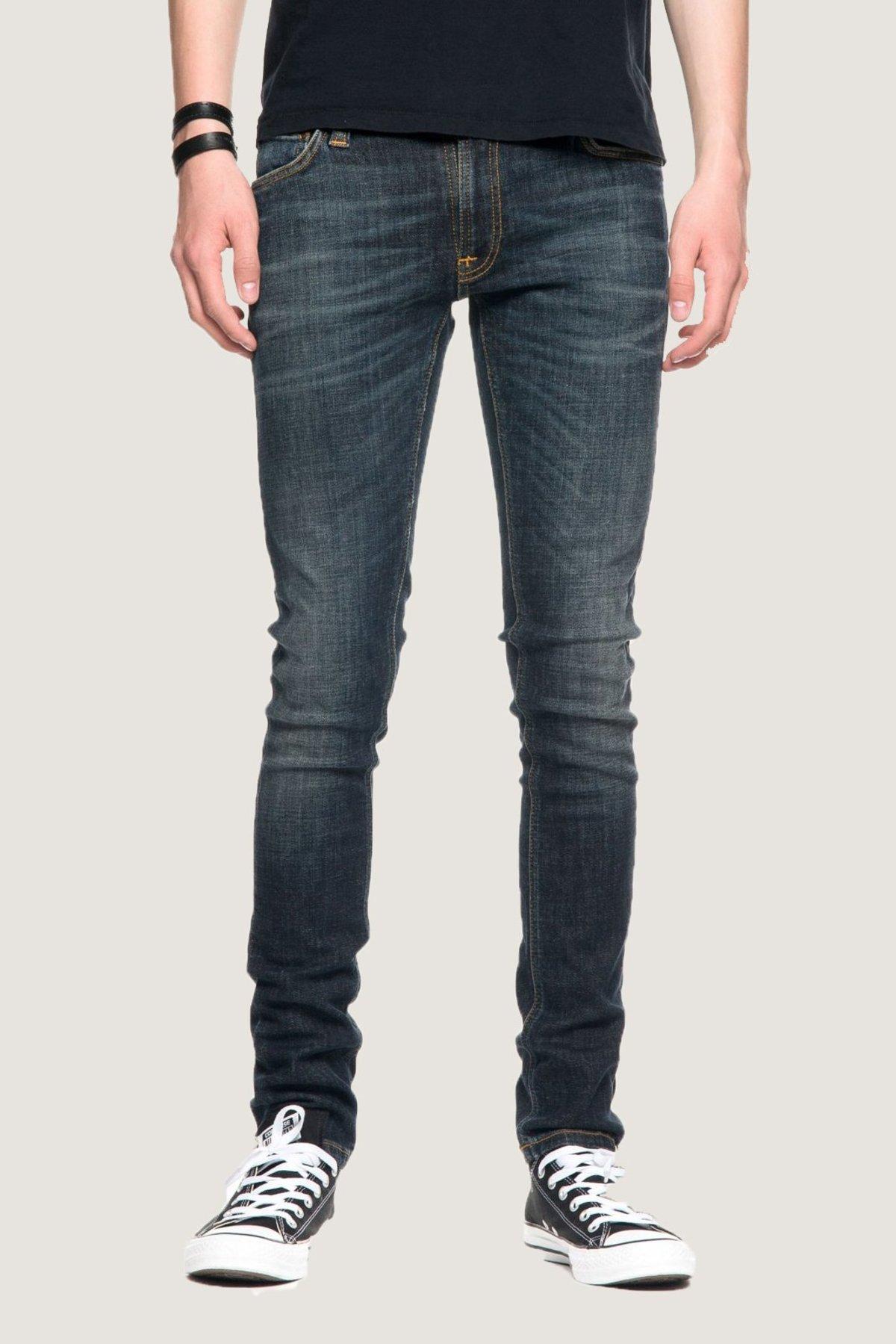 9300ce84506734 Nudie Jeans Skinny Lin - Blue Motion | Garmentory