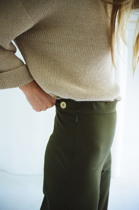 Han Starnes Olive Pants