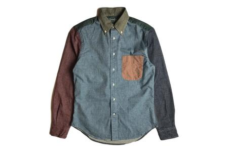 Gitman Vintage Fun - Chambray Flannel