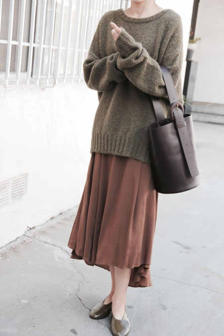 Atelier Delphine Lark Sweater - Olive
