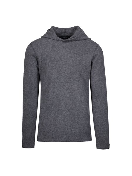 Wings + Horns Felted Wool Hooded Pullover