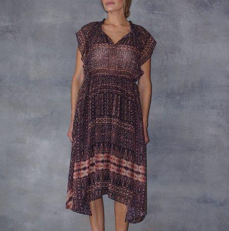 Ulla Johnson Farah Silk Earth Sleeveless Maxi Dress
