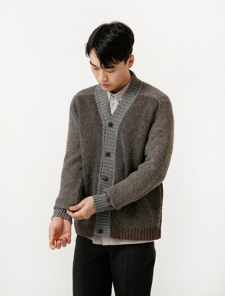 Stephan Schneider Cardigan Local Knit - Brown Melange