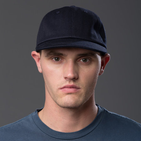 Freemans Sporting Club - Cap - Indigo Denim