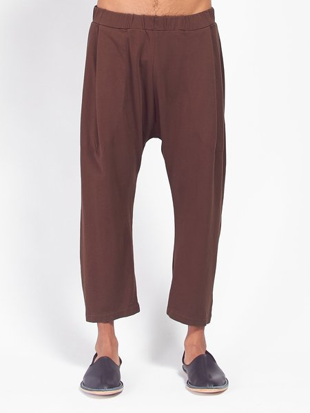 Willy Chavarria Buffalo Pant - Chocolate