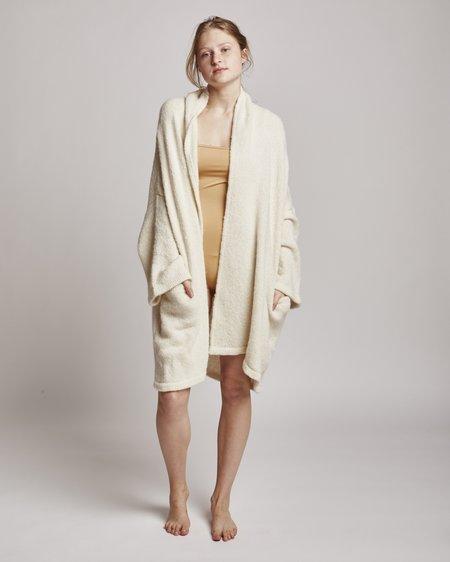 Atelier Delphine Haori Sweater Jacket In Cream