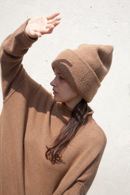 Lauren Manoogian Carpenter Hat in Camel