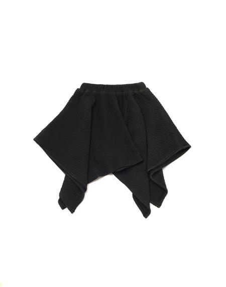 Kid's OMAMImini Handkerchief Ottoman Skirt Vintage Black