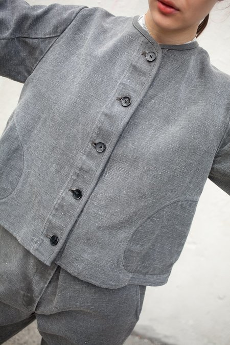 Caron Callahan Tommy Jacket in Stonewash Cotton Oiled