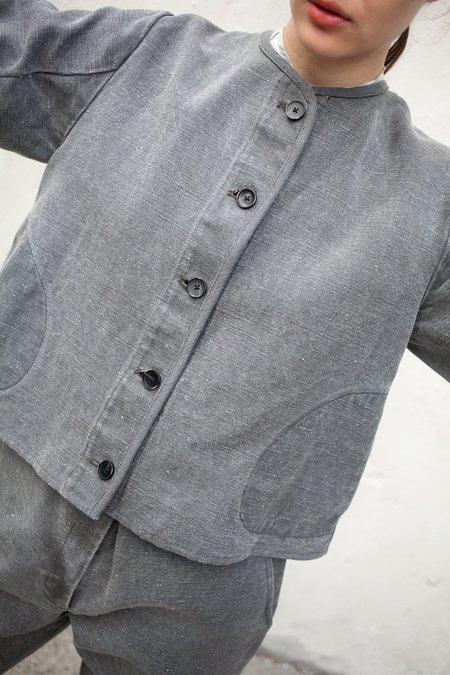 Caron Callahan Tommy Jacket in Stonewash Cotton Oiled