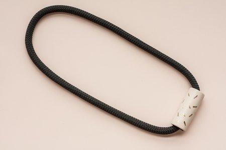 YYY Confetti Necklace - Peach