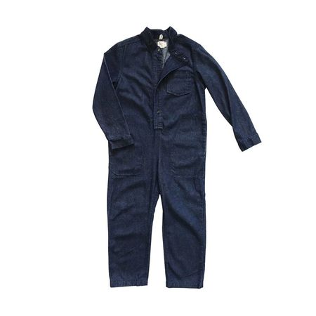 Kid's Nico Nico Denim Zap Jumpsuit