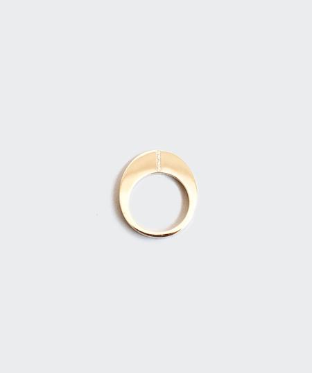 Gabriela Artigas Pave Narrow Egg Ring