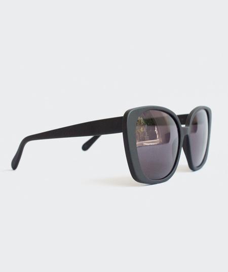 Prism Monaco Sunglasses - Matte Black