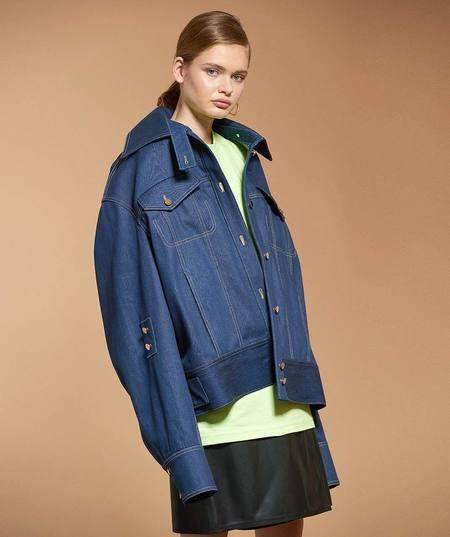 Claudia Li Oversized Denim Jacket