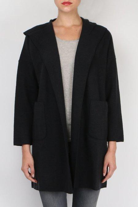 Evam Eva Press Wool Hooded Coat