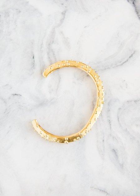 Takara Crusta Cuff 14KT Gold