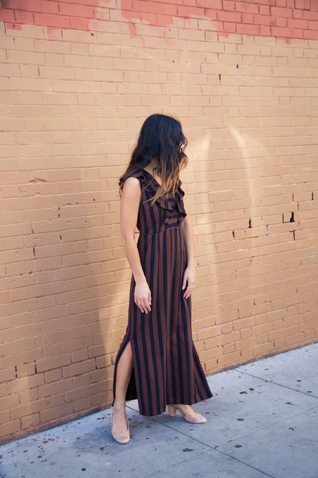 Ace & Jig Magdalena Dress In Outlaw