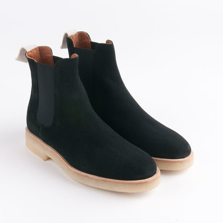 WOMAN BY COMMON PROJECTS Chelsea Boot in Black Suede
