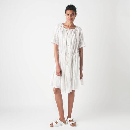 CARON CALLAHAN Gauze Uma Dress in Indian Jacquard