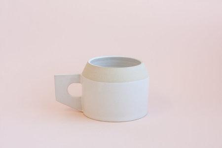 YYY White Angle Mug