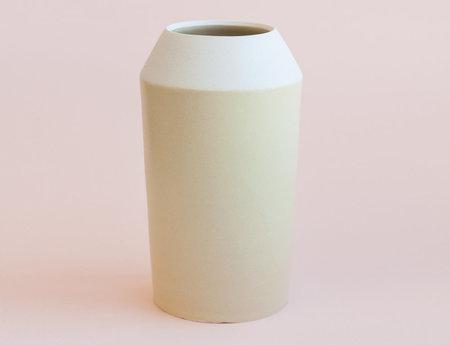 YYY Yellow Collar Vase